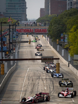 Pace laps: James Jakes, Dale Coyne Racing