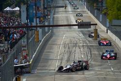 Will Power, Team Penske leads the field