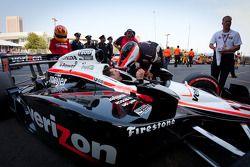Race winner Will Power, Team Penske celebrates