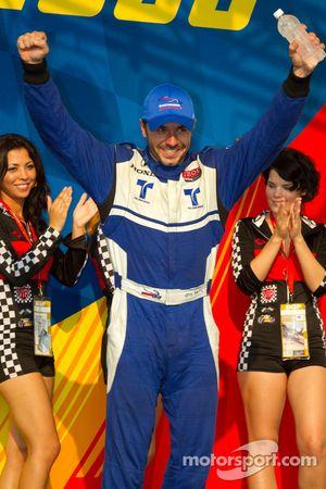 Podium: second place Oriol Servia, Newman/Haas Racing