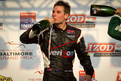 Podium: vainqueur Will Power, Team Penske