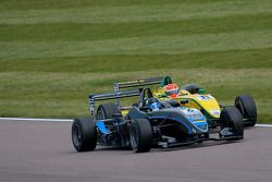 Felipe Nasr fights with the midfield after his drive through penalty