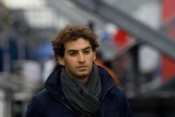 Menasheh Idafar after retiring from the race