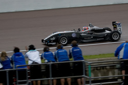 Kevin Magnussen wins the race