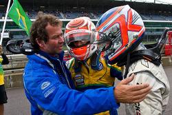 Trevor Carlin ,Felipe Nasr and Kevin Magnussen