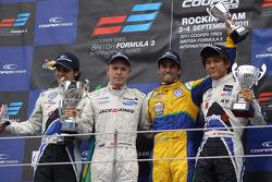 Pietro Fantin, Kevin Magnussen, Felipe Nasr, Kotaro Sakurai
