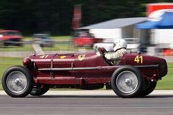 Peter Greenfield, 1933 Alfa Romeo Monza