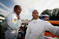 Volkswagen Scirocco R-Cup: Nicolas Hamilton; und Anthony Hamilton