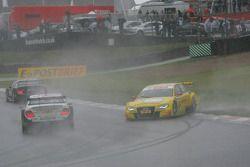 Mike Rockenfeller, Audi Sport Team Abt Sportsline, Audi A4 DTM and Ralf Schumacher, Team HWA AMG Mercedes, AMG Mercedes C-Klasse crash