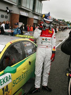 Race winner Martin Tomczyk, Audi Sport Team Phoenix, Audi A4 DTM