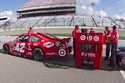 Voiture de Juan Pablo Montoya, Earnhardt Ganassi Racing Chevrolet