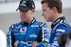 Carl Edwards et Trevor Bayne