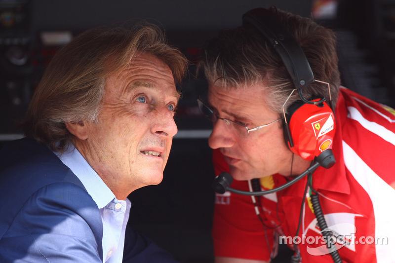 Luca di Montezemolo, Scuderia Ferrari, FIAT Yönetim Kurulu Başkanı ve Başkanı, Ferrari ve Pat Fry Fe