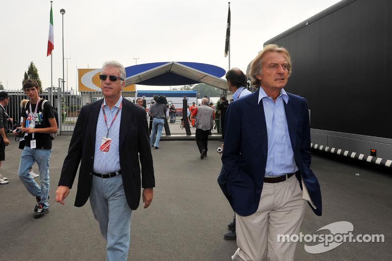 Piero Lardi Ferrari Ferrari Vice-Başkanı, Luca di Montezemolo, Scuderia Ferrari, FIAT Yönetim Kurulu