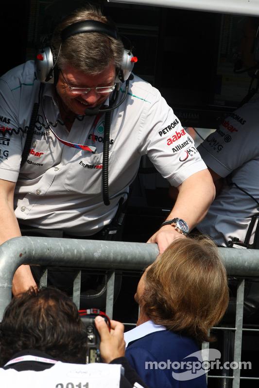 Luca di Montezemolo, Scuderia Ferrari, FIAT Yönetim Kurulu Başkanı ve Başkanı, Ferrari, Ross Brawn T