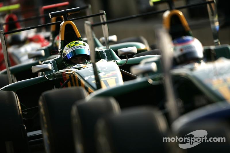 Equipo campeón de la GP3 en 2011: Lotus ART