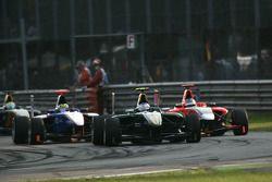 Valtteri Bottas leads Adrian Quaife