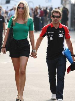 Isabell Reis kız arkadaşı, Timo Glock ve Timo Glock, Marussia Virgin Racing