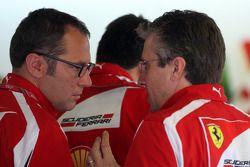 Stefano Domenicali Ferrari Direktörüü, Pat Fry Ferrari Teknik Direktörü