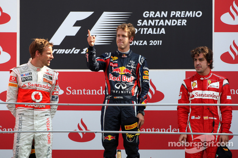 2011: Sebastian Vettel, de Red Bull Racing