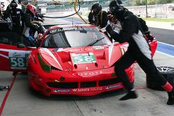 Pitstop #58 Luxury Racing Ferrari F458 Italia: François Jakubowski, Anthony Beltoise, Nicolas Marroc