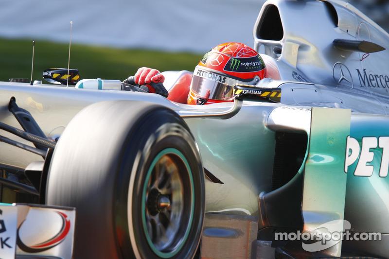 2011: segunda temporada con Mercedes en F1