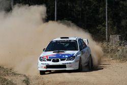 Брендан Ривс и Рианон Смит, Subaru Impreza WRX