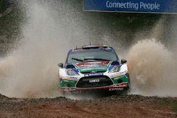 Khalid Al Qassimi et Michael Orr, Ford Fiesta RS WRC, Team Abu Dhabi
