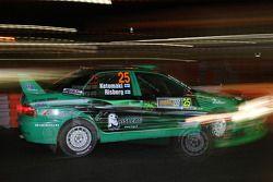Jukka Ketomaki en Kai Risberg, Mitsubishi Lancer Evo IX