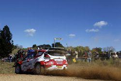 Евгений Новиков и Дени Жироде, Ford Fiesta RS WRC