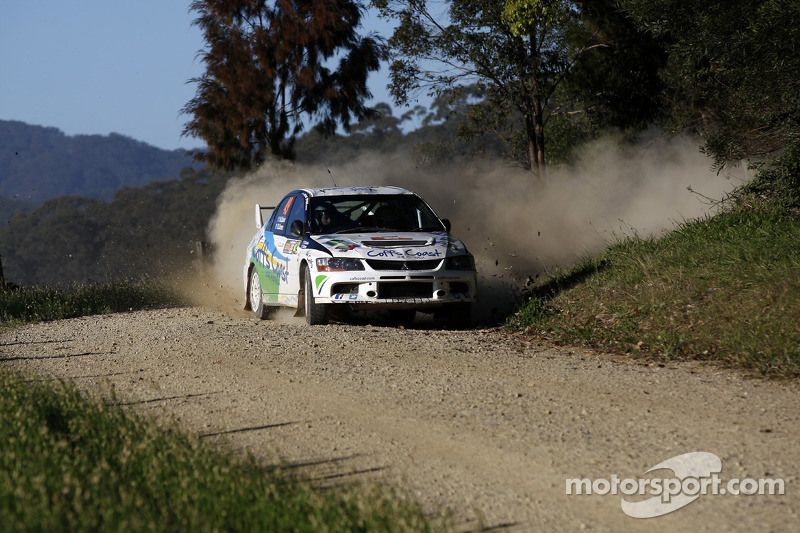 Nathan Quinn and David Green, Mitsubishi Lancer Evo IX