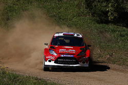 Evgeny Novikov and Denis Giraudet, Ford Fiesta RS WRC