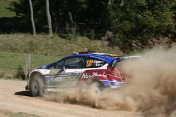 Khalid Al Qassimi and Michael Orr, Ford Fiesta RS WRC, Team Abu Dhabi