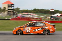 #75 Compass360 Racing Honda Civic SI: Ryan Eversley, Craig Stanton