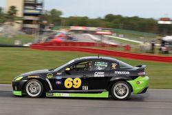 #69 Pirate Motorsports Mazda RX-8: Rob Huffmaster, M Allen Milarcik
