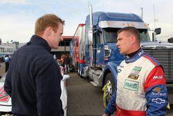 GT pole Ronnie Bremer met Robin Liddell