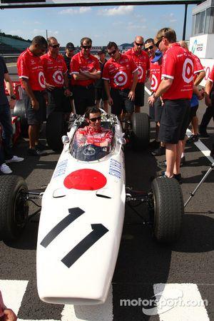 Vintage Honda F1 photoshoot: Dario Franchitti, Target Chip Ganassi Racing