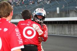 Pole winner Scott Dixon, Target Chip Ganassi Racing