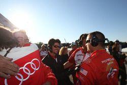 Brumos Racing team viert GT titel