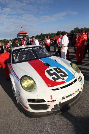 GT 2011 kampioen #59 Brumos Racing Porsche GT3