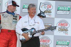 GT podium: winnaar Robin Liddell