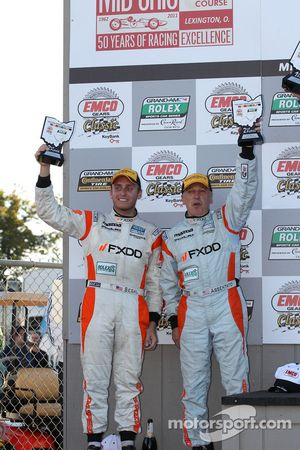 GT podium: 2de Emil Assentato en Jeff Segal