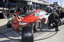 Pitstop #44 Flying Lizard Motorsports Porsche 911 GT3 RSR: Seth Neiman, Marco Holzer