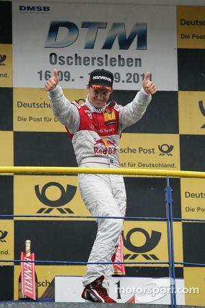 Winnaar Mattias Ekström, Audi Sport Team Abt Audi A4 DTM