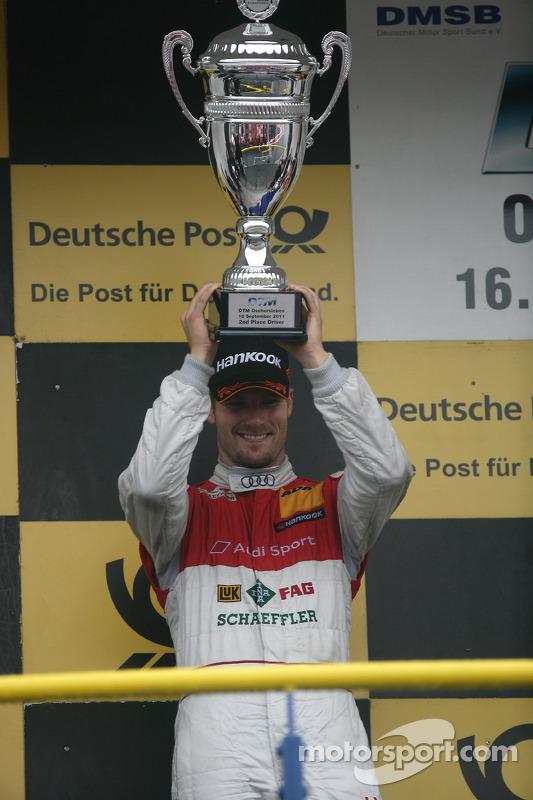 Второе место - Мартин Томчик, Audi Sport Team Phoenix Audi A4 DTM