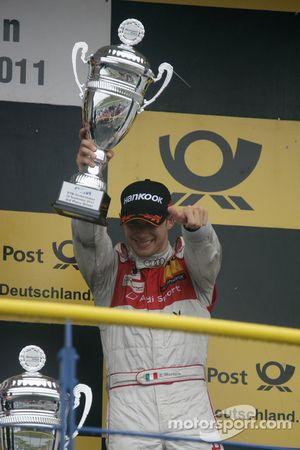 Edoardo Mortara, , Audi Sport Team Rosberg, Audi A4 DTM 2008
