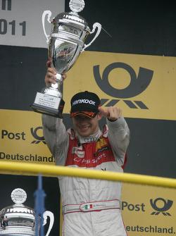 Третье место - Эдоардо Мортара, Audi Sport Team Rosberg, Audi A4 DTM