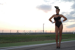 A charming LCR Honda MotoGP girl