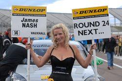 Triple 8 Racing gridgirl James Nash