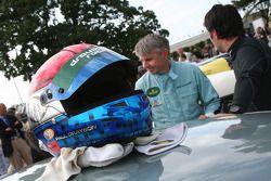 Race TT practice: Paul Drayson Helmet